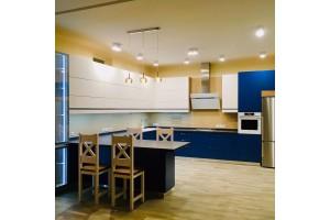Кухня угловая плёнка ПВХ