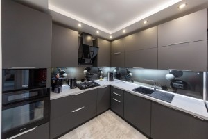Кухня угловая эмаль