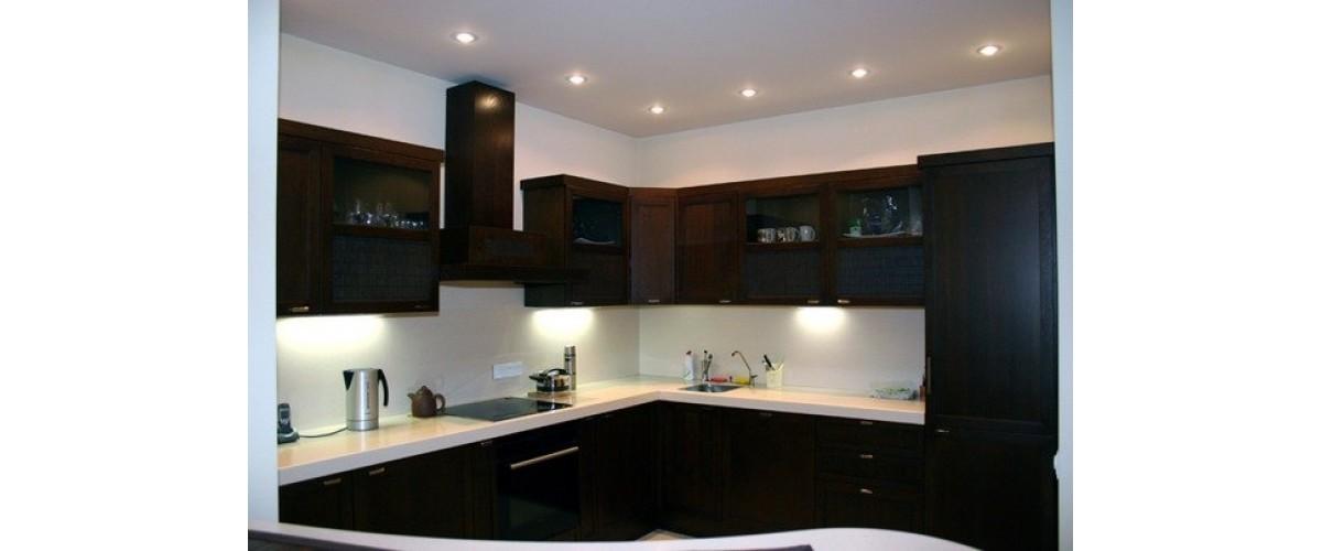 Выбор угловой кухни
