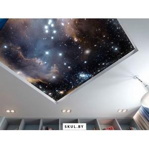 """Натяжной потолок """"Звездное небо"""" в Шумилино"""