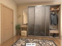 Шкафы-купе на заказ в коридор в Добруше
