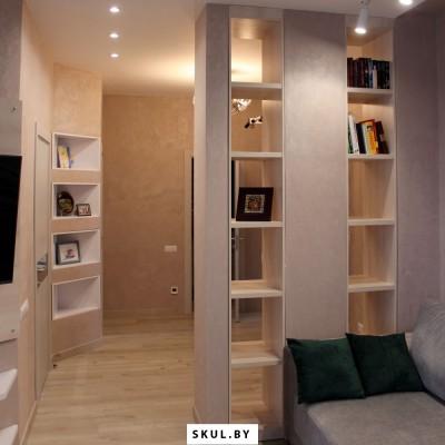Встроенная мебель длягостиной