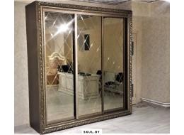 Шкафы-купе на заказ с зеркалом