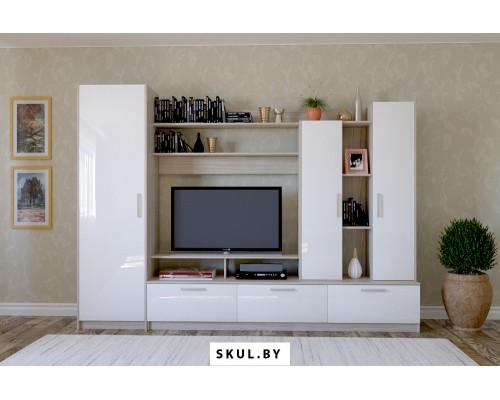 Белая мебель для гостиной в Осиповичах