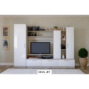Белая мебель для гостиной в Миорах