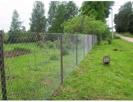 Забор из рабицы в Зельве
