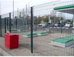 3D забор в Зельве